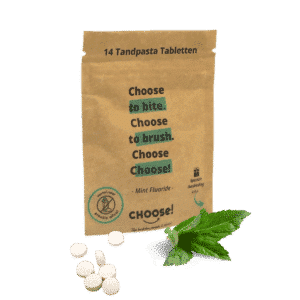 Choose Tandpasta Tabletten Sample